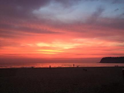 Sunset on Agonda beach, a highlight of India