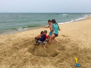 Cat Ba beach