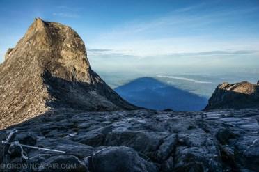 Mountain shadow