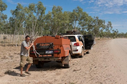 Travelling the GibbRiver Road in the Australian outback