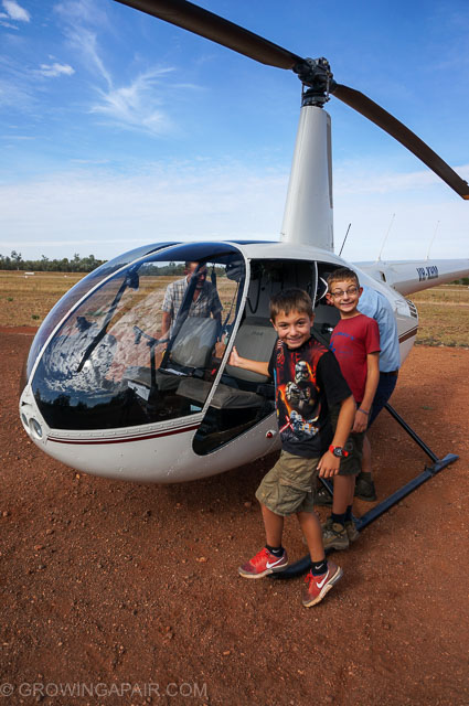 Bungles helicopter flight