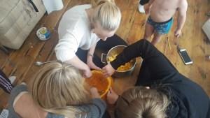 mummas pumpkin fun