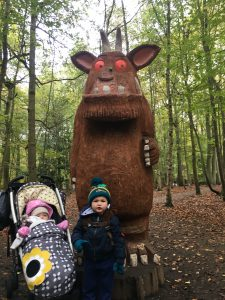 baby bear&a with the gruffalo