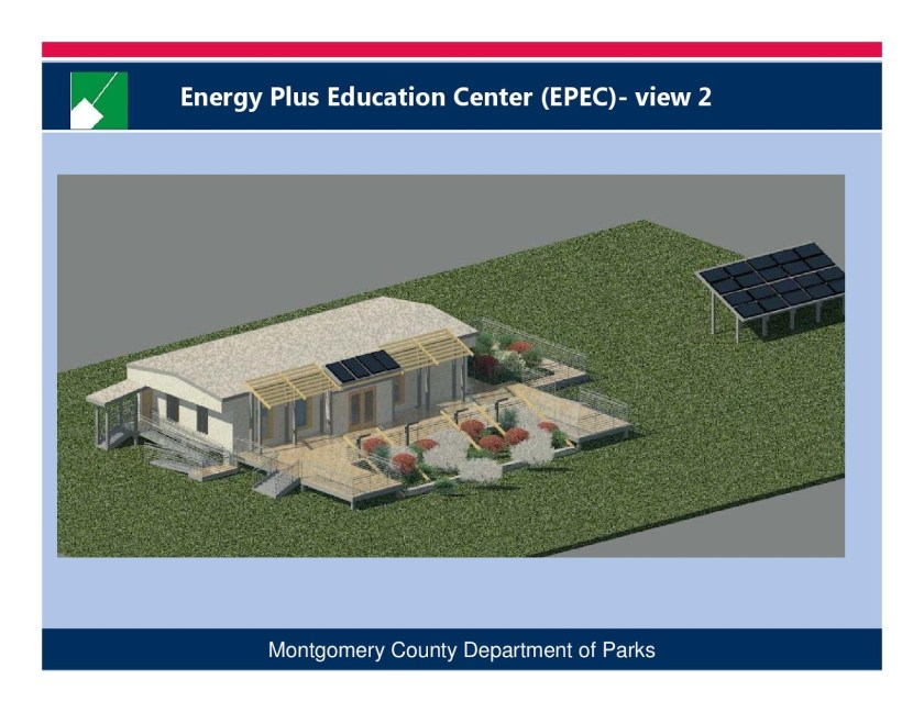 Rendering of new Maydale Nature Center