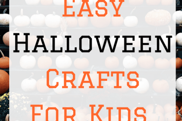 Quick And Easy Halloween Crafts For Kids