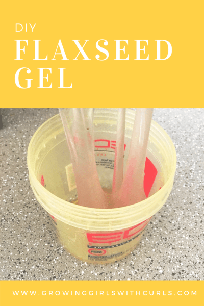 Do it yourself flaxseed hair gel from home growing girls with curls flaxseed gel ccuart Images