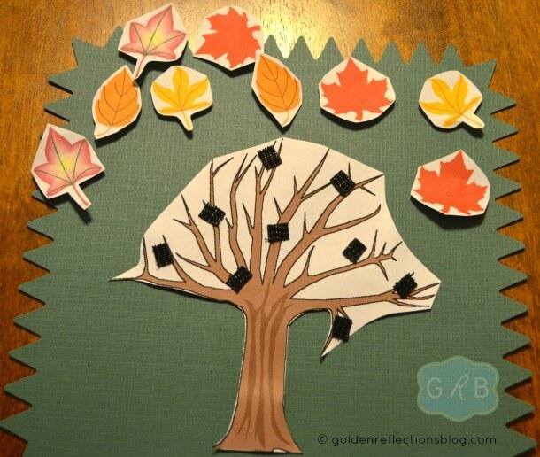 Fall Tree Decorating Craft 5