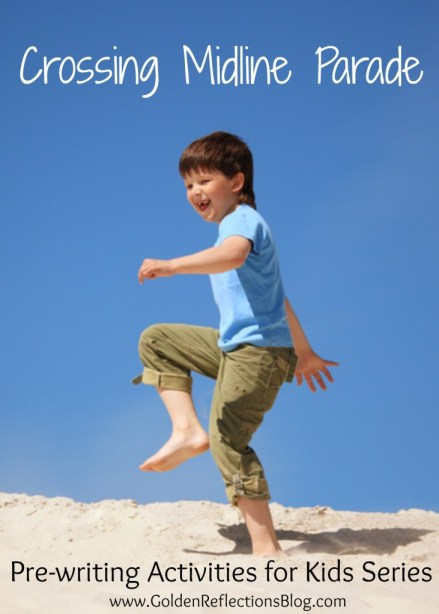 Pre-writing Activities for Kids, Crossing Midline Activity