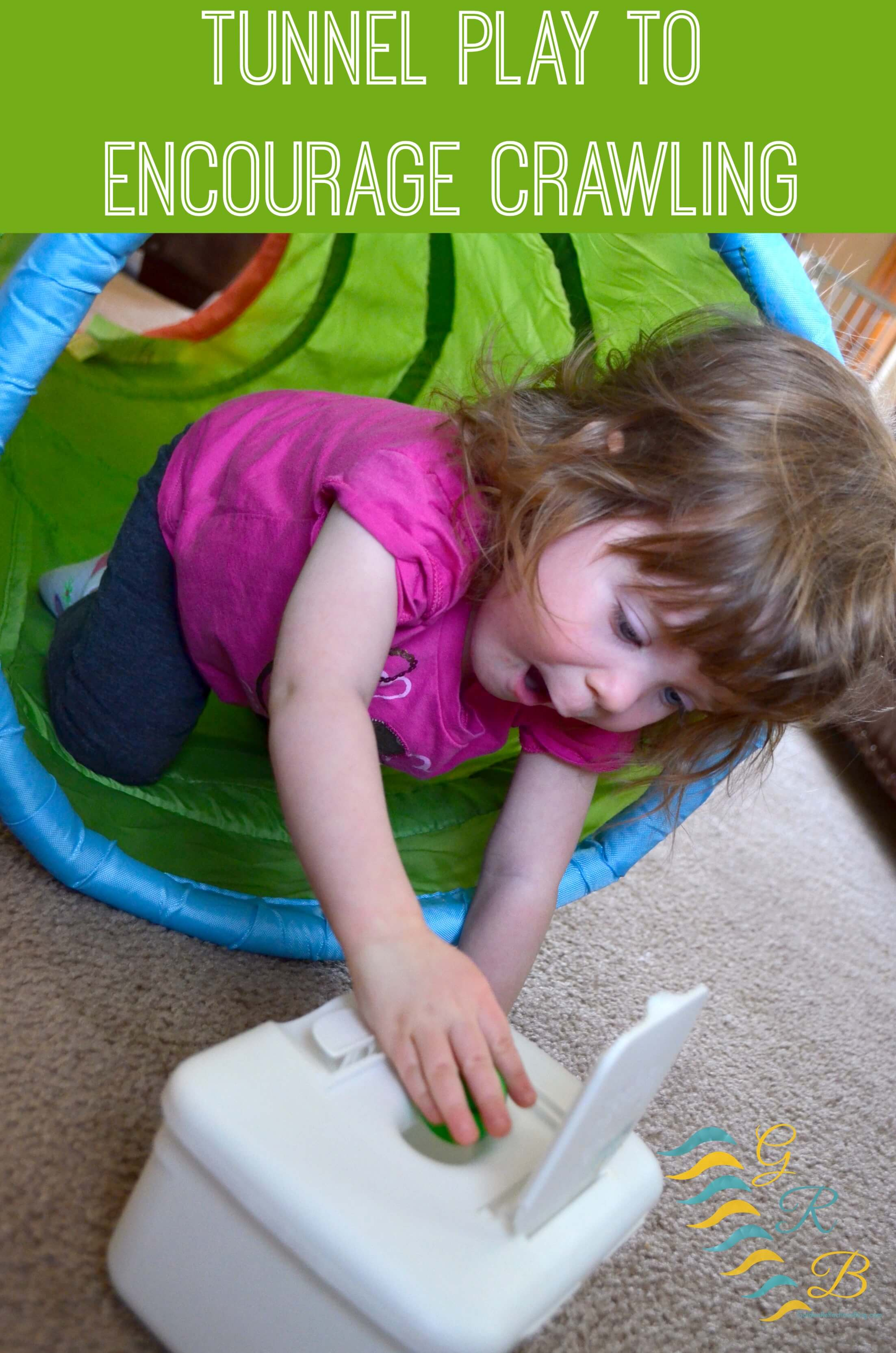 Sensory Processing Play Tunnel Play To Encourage Crawling
