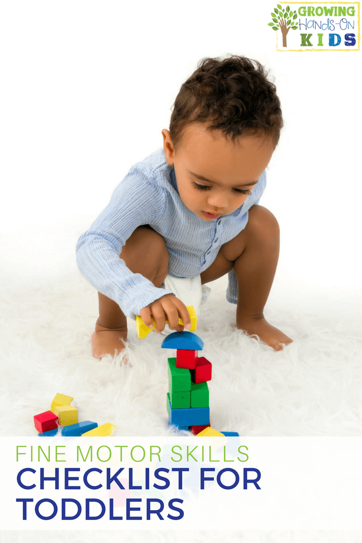Fine Motor Skills Checklist For Preschoolers Ages 3 5