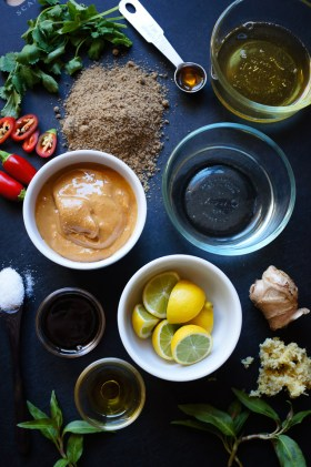 Ginger Lime Peanut Dressing | Gluten Free, Low FODMAP | Growing Home