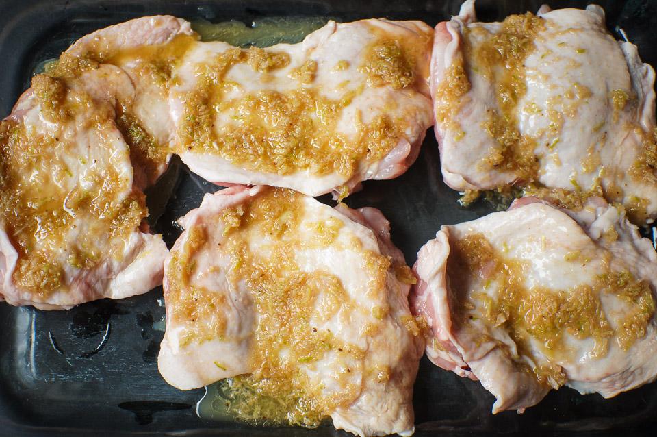 Lemongrass Chicken | Gluten Free, Low FODMAP | Growing Home