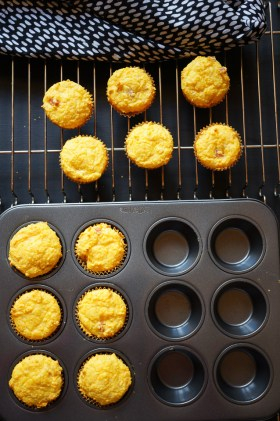 Pumpkin + Cheese Muffins | Gluten Free, Low FODMAP | Growing Home