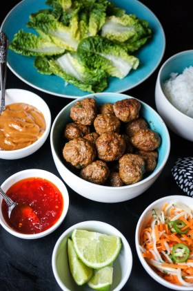 Asian Beef Meatballs | Gluten Free, Low FODMAP | Growing Home