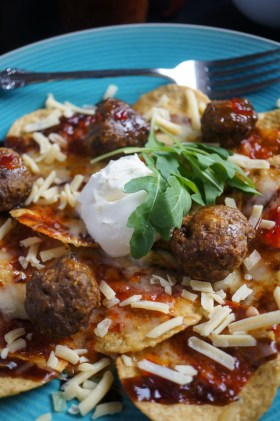 Nacho Beef Meatballs | Gluten Free, Low FODMAP | Growing Home
