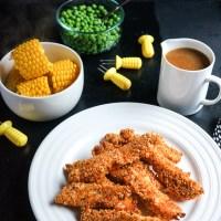 Crunchy Baked Chicken | Gluten Free, Low FODMAP | Growing Home