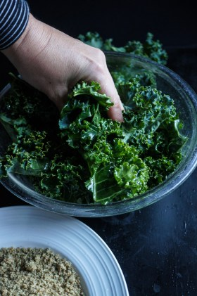 Spicy Kale Chips | Gluten Free, Low FODMAP | Growing Home