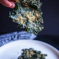Spicy Kale Chips | Gluten Free, Low FODMAP | Growing Home