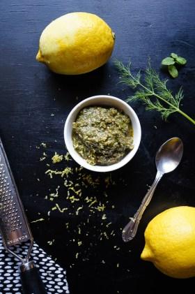 Mint + Dill Pesto | Gluten Free, Low FODMAP | Growing Home