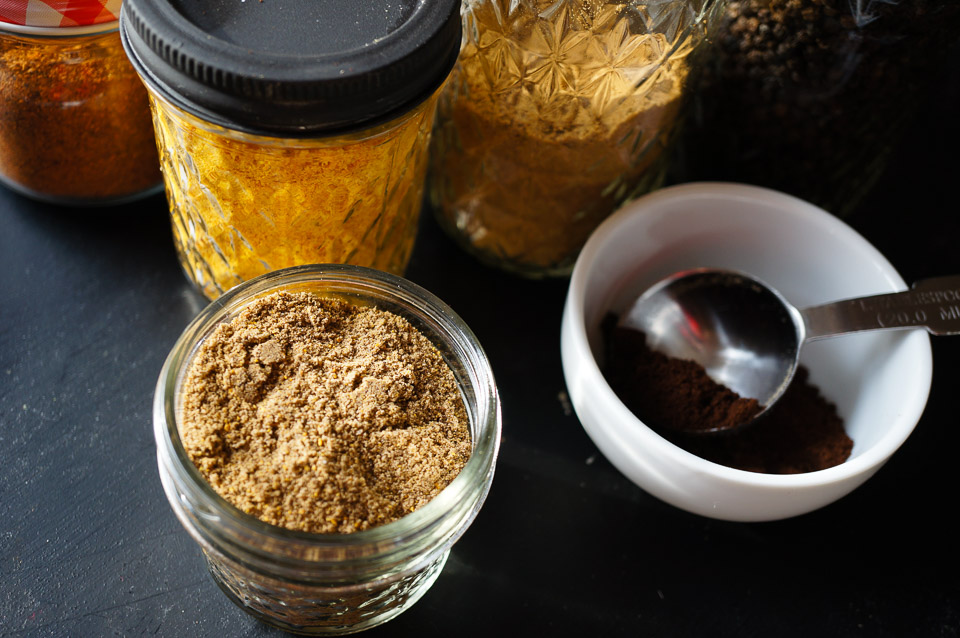 Coffee Citrus Spice Seasoning Rub | Gluten Free, Low FODMAP | Growing Home