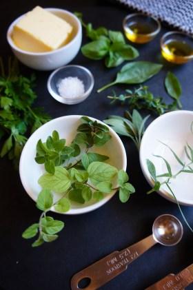 Herb + Garlic Butter | Gluten Free, Low FODMAP | Growing Home