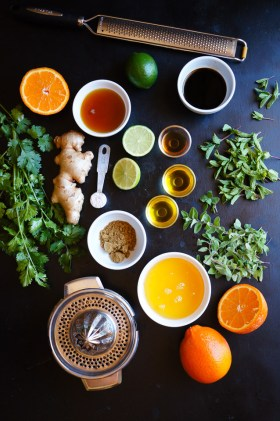 Herb Ginger Citrus Marinade | Gluten Free, Low FODMAP | Growing Home