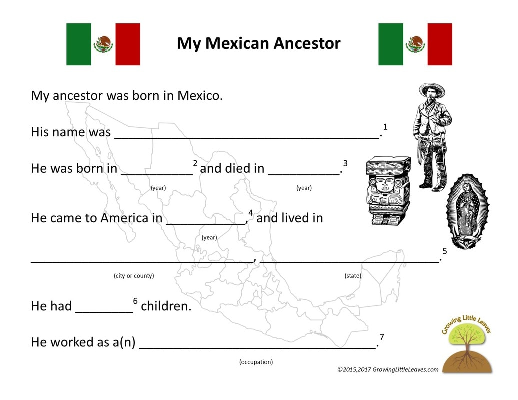 Pictures Mexican Independence Day Worksheets