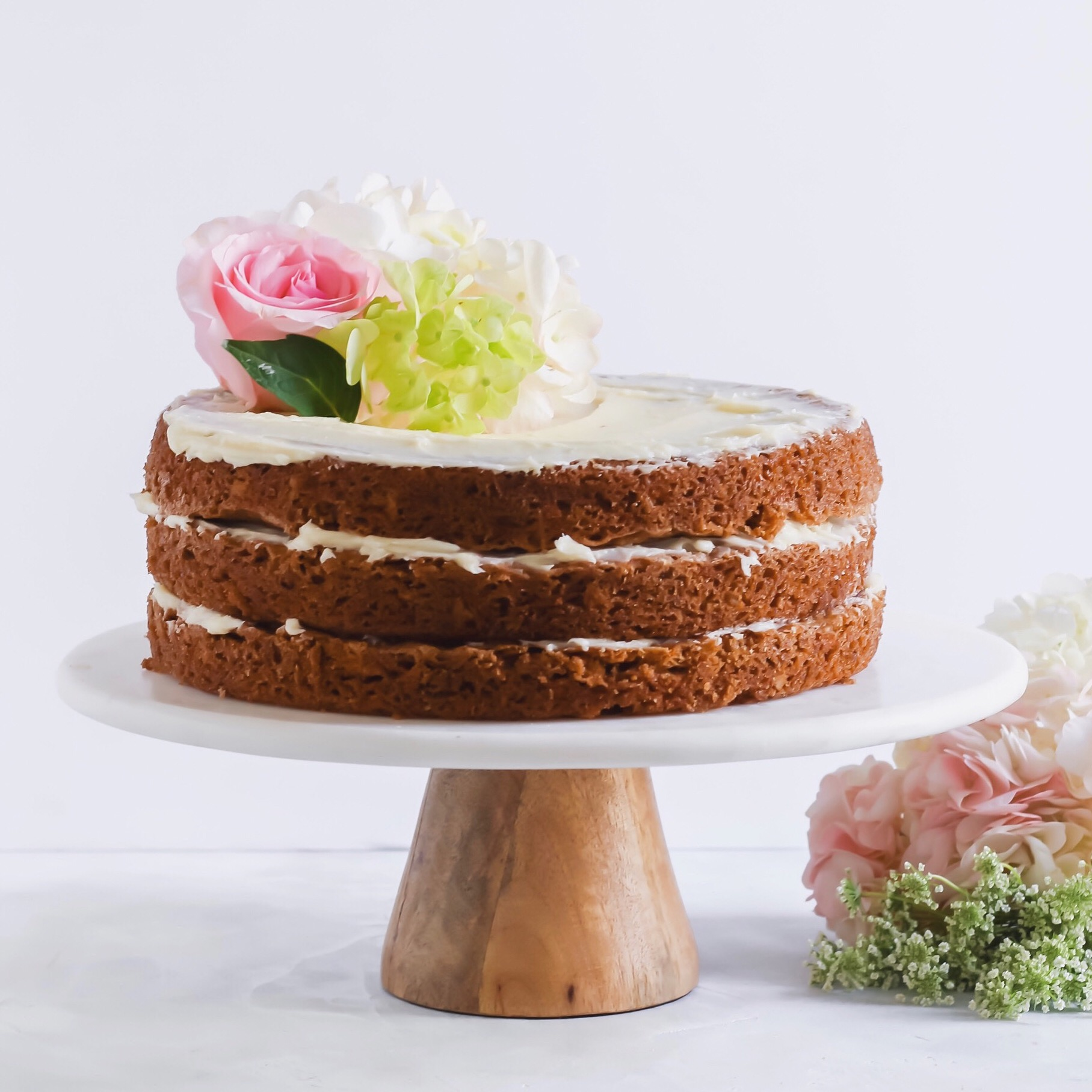 Naked Carrot Cake - Macphie