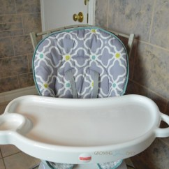 Fisher Price Space Saving High Chair Gaming Lounge Saver Growing Your Baby