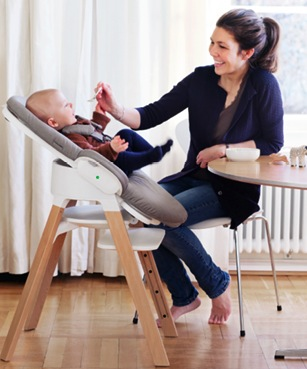 stokke high chair old fashioned rocking nursery debuts steps ~ all-in-one seating system