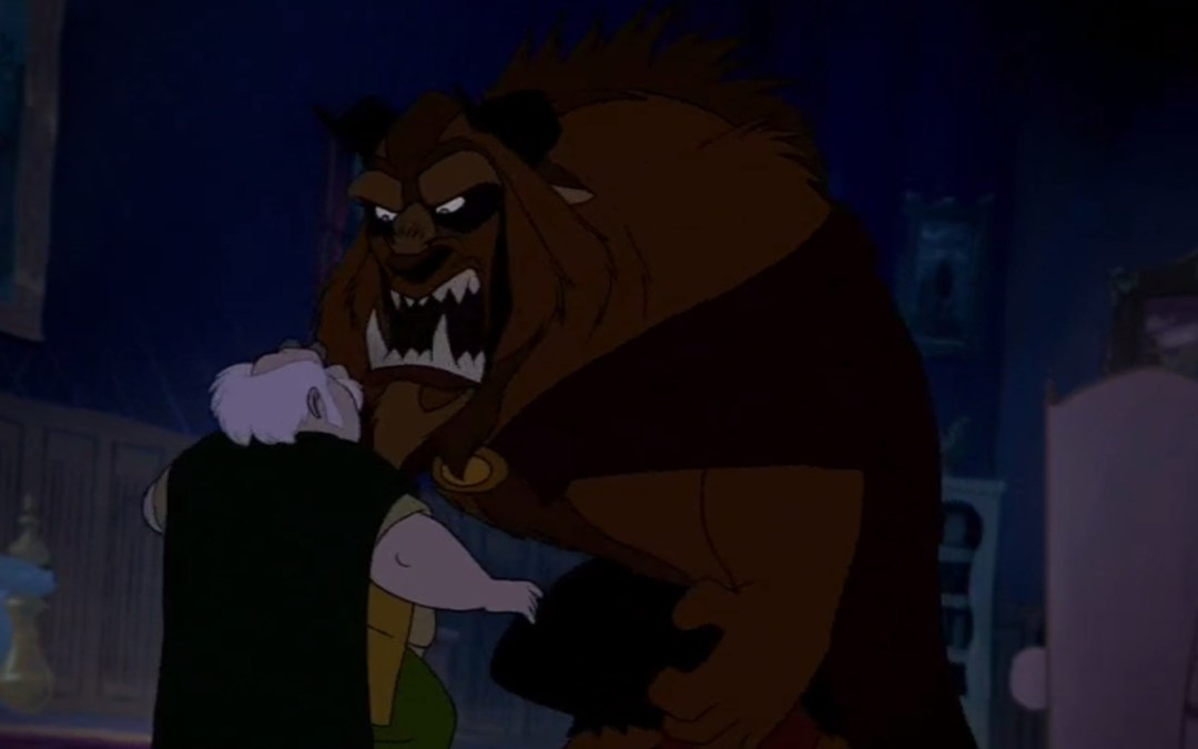 Beauty and the Beast, Minute 16: Beastly and Mad