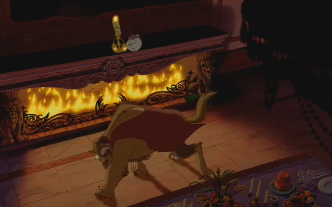 Beauty and the Beast, Minute 31: Servants of the Curse