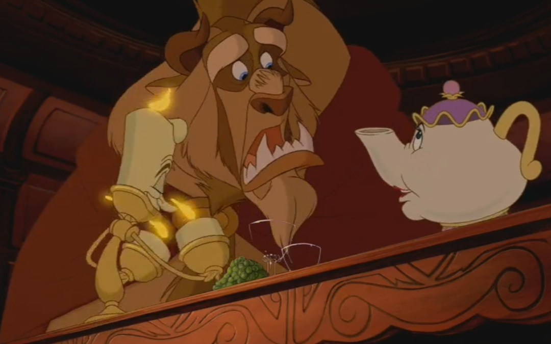 Beauty and the Beast, Minute 32: It's Disney, not Tinder