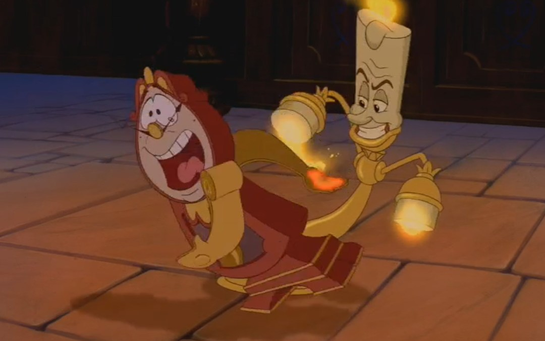 Beauty and the Beast, Minute 36: Accents, Errors, and Gag Orders