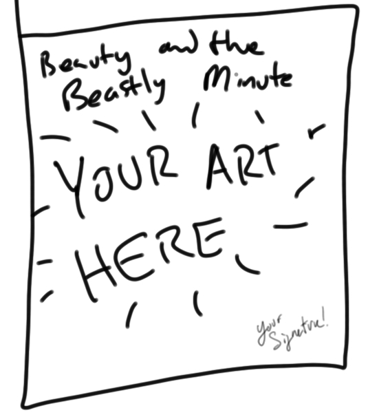 Cover Art Contest for Beauty and the Beastly Minute!