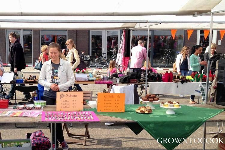 Flea market in the Netherlands