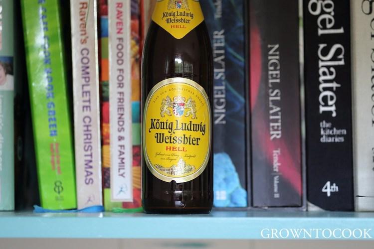 Bavarian wheat beer