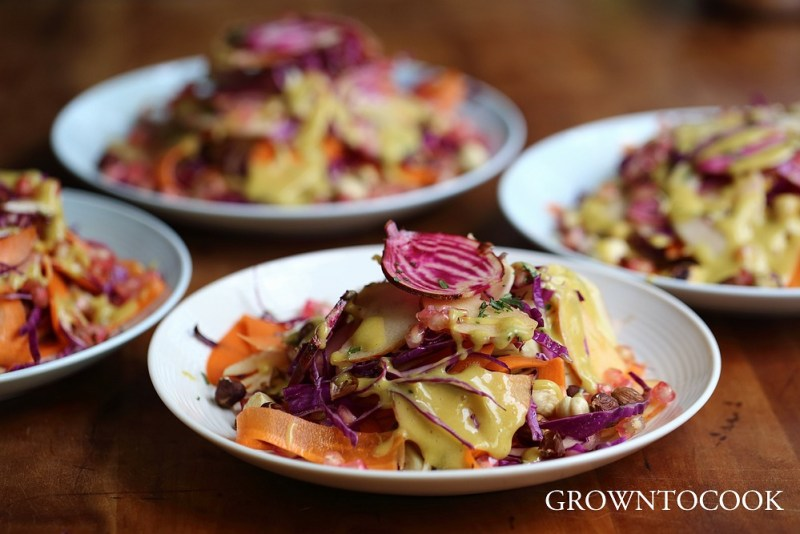 Fall coleslaw