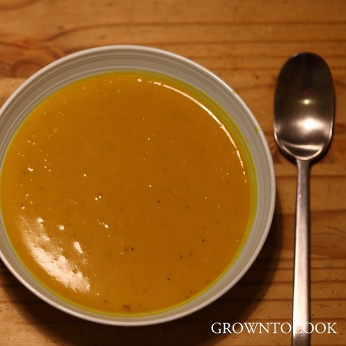African pumpkin soup