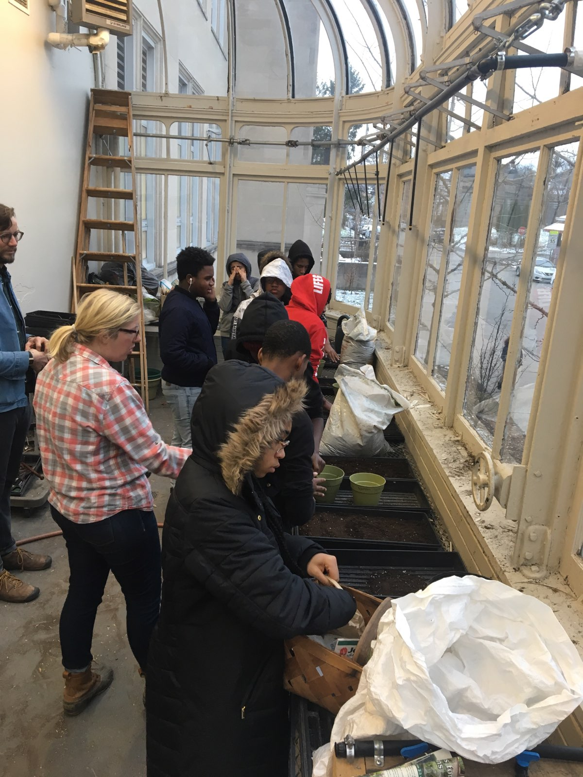 Greenhouse given new life at Westinghouse Academy