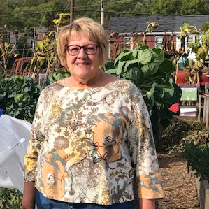 Ruth Ann McGarry finds a sense of belonging in Sharpsburg Community Garden