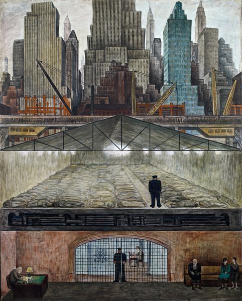 Frozen Assets - Diego Rivera, 1931