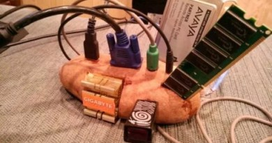 Potato Computer (PC): Everything Hardware, Software, Specification