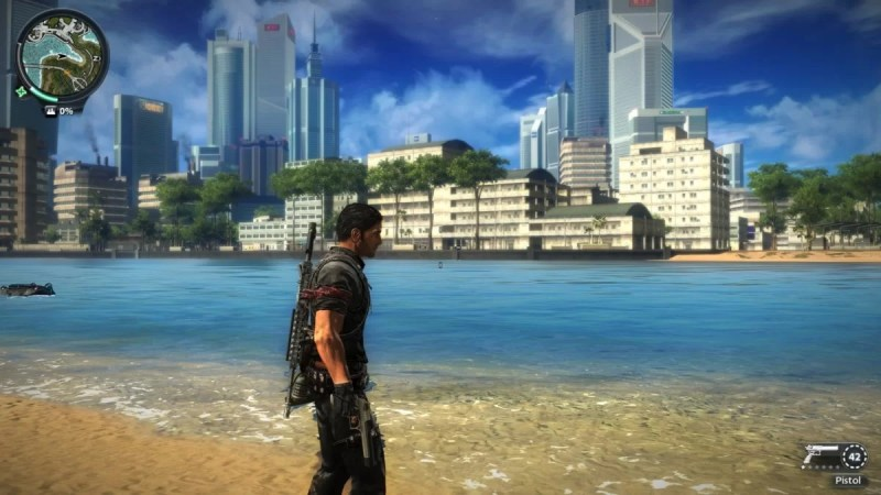 Best Old Games PC-Just Cause 2