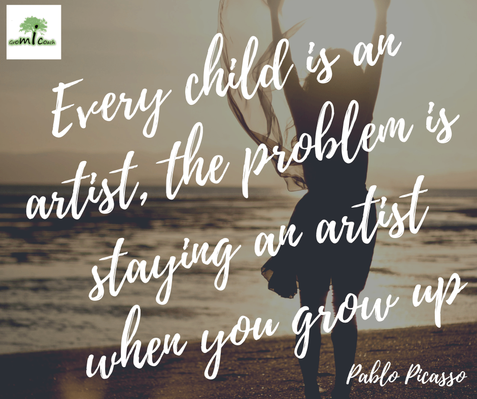 Every child is an artist, the problem is staying an artist when you grow up