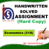Economics -318 Solved Assignment