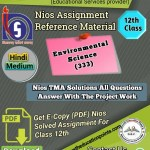 Environmental Science -333 Solved Assignment pdf file