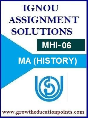 IGNOU MHI-6 SOLVED ASSIGNMENT