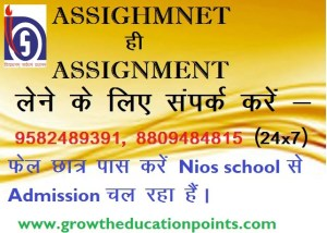 nios solved assignment 2020-21