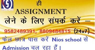 nios solved assignment 2020-21